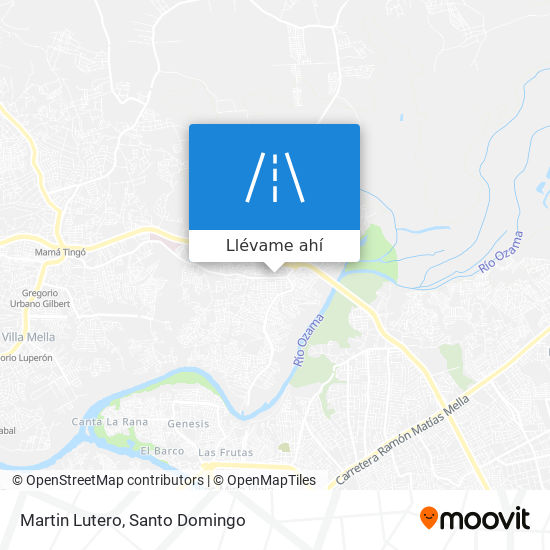 Mapa de Martin Lutero