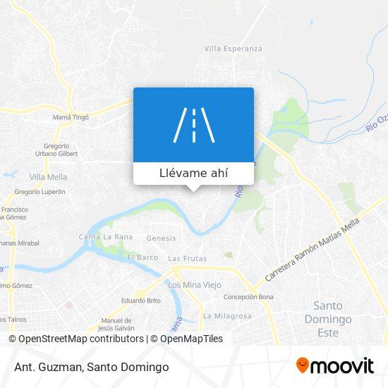 Mapa de Ant. Guzman