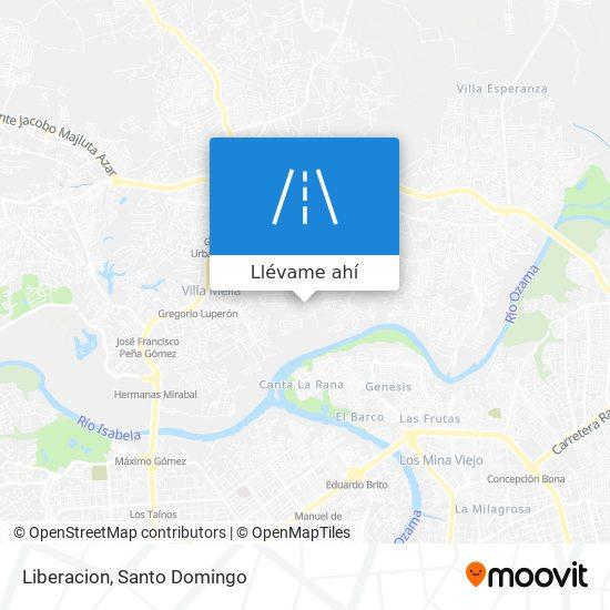 Mapa de Liberacion