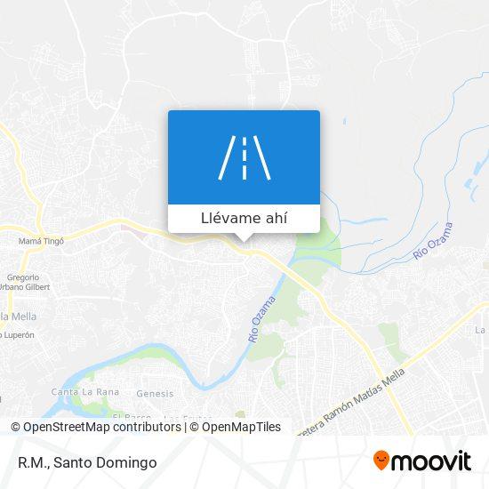 Mapa de R.M.