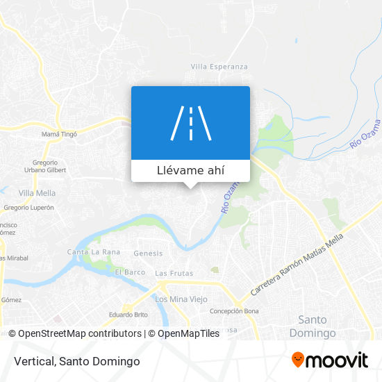 Mapa de Vertical