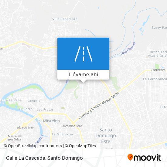 Mapa de Calle La Cascada