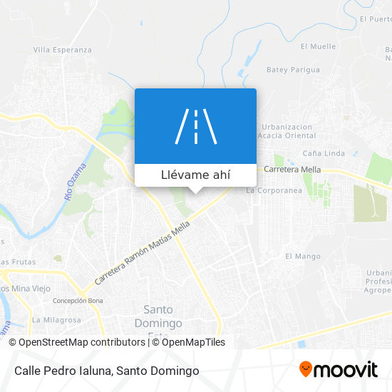 Mapa de Calle Pedro Ialuna