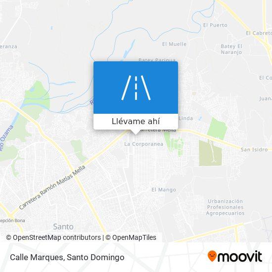 Mapa de Calle Marques