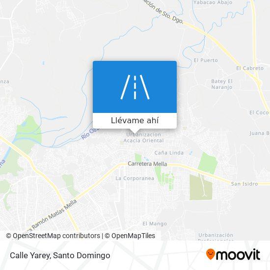 Mapa de Calle Yarey
