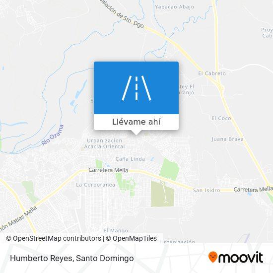Mapa de Humberto Reyes
