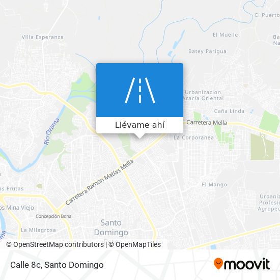 Mapa de Calle 8c