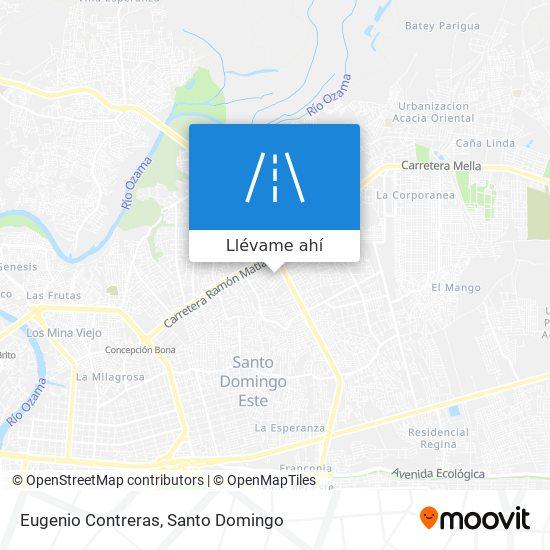 Mapa de Eugenio Contreras