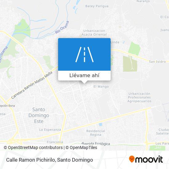 Mapa de Calle Ramon Pichirilo