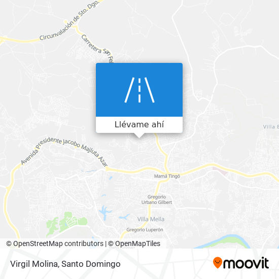 Mapa de Virgil Molina