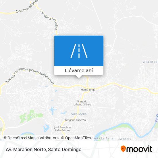 Mapa de Av. Marañon Norte