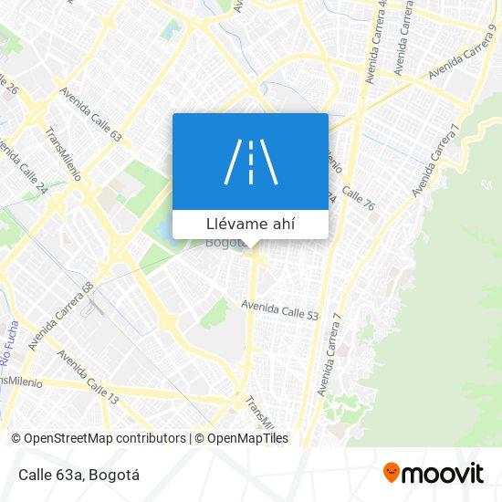 Mapa de Calle 63a