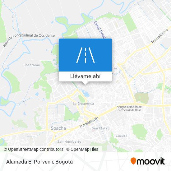 Mapa de Alameda El Porvenir