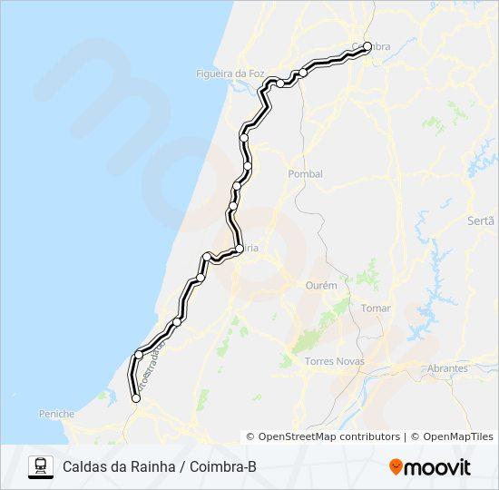 Rota Interregional Horarios Paragens E Mapas Caldas Da Rainha