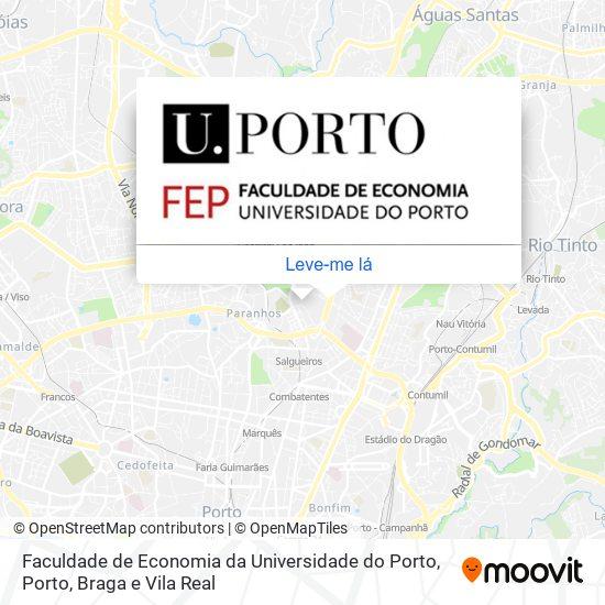 Faculdade De Economia Da Universidade Do Porto mapa