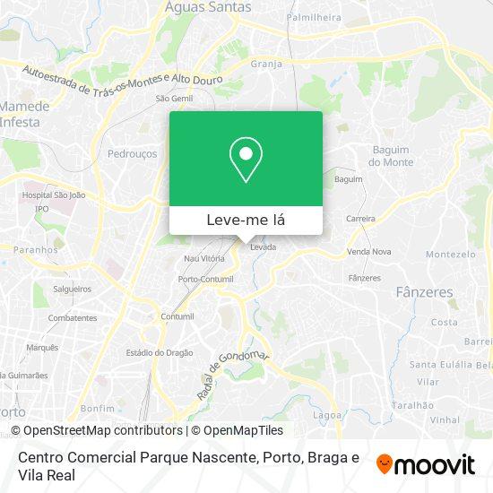 Centro Comercial Parque Nascente mapa
