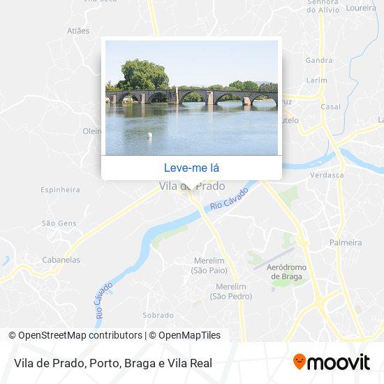Vila De Prado mapa