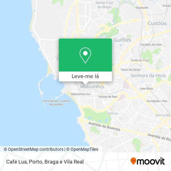Café Lua mapa