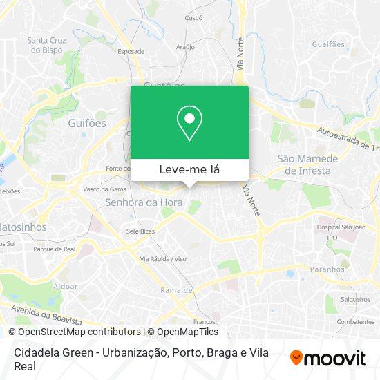 Cidadela Green - Urbanização mapa