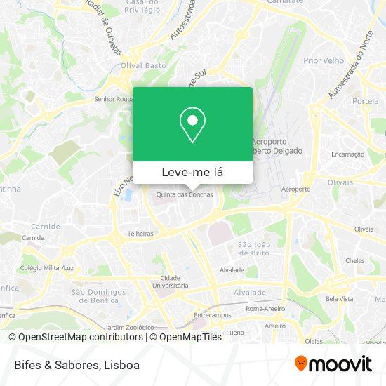 Bifes & Sabores mapa