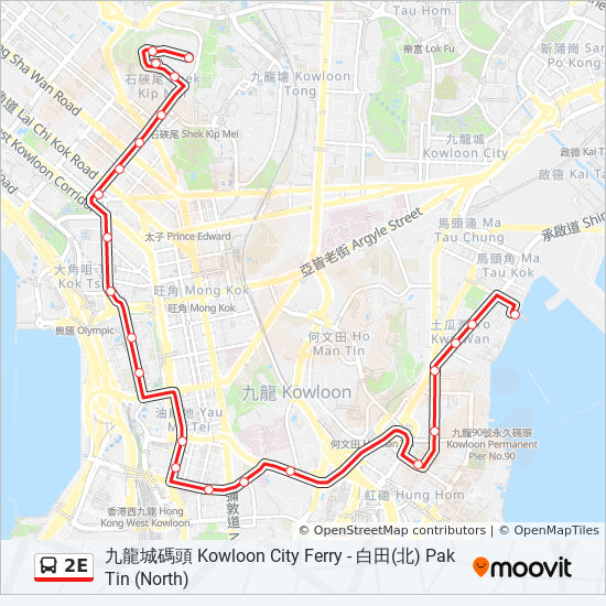 2E Route: Time Schedules, Stops & Maps - 九龍城碼頭Kowloon City on chicago city street map, denver city street map, miami city street map, western street map, philadelphia city street map, beacon hill street map, wan chai street map, taipei city street map, cape town city street map, city of flint street map, boston city street map, london city street map, shanghai city street map, seattle city street map, jerusalem city street map, kiev city street map, kathmandu city street map, birmingham city street map, austin city street map, houston city street map,