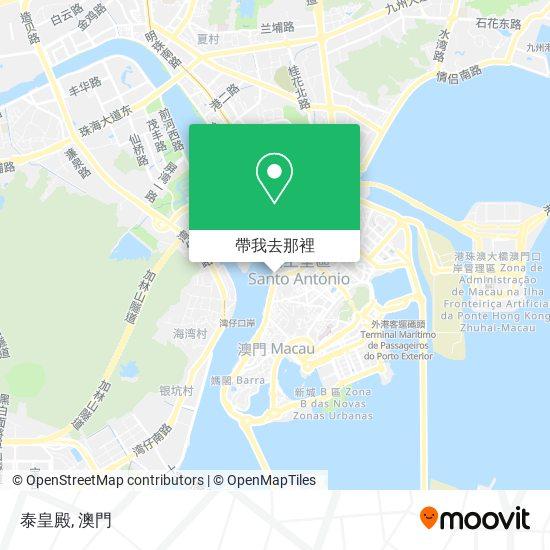 泰皇殿地圖