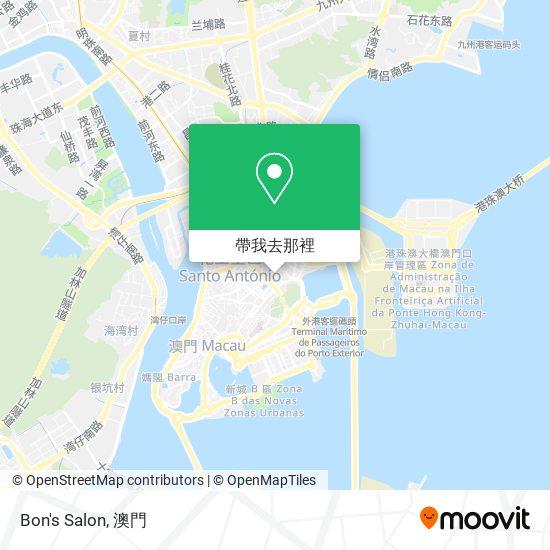 Bon's Salon地圖
