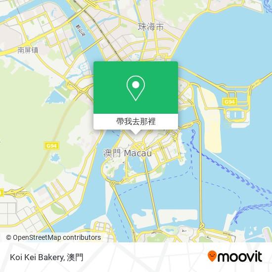 Koi Kei Bakery地圖