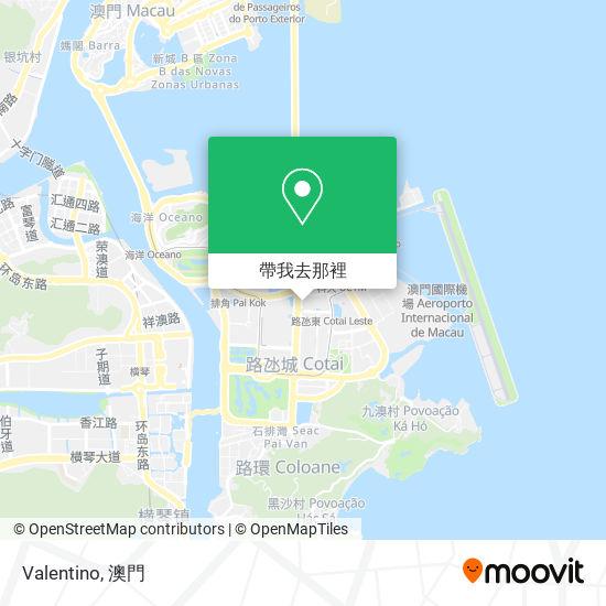 Valentino地圖