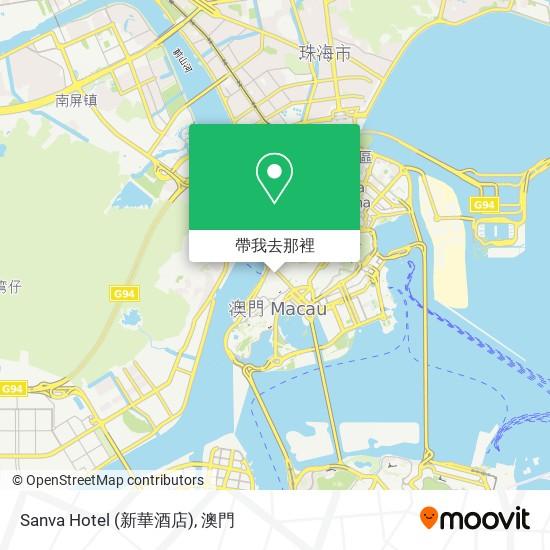 Sanva Hotel (新華酒店)地圖