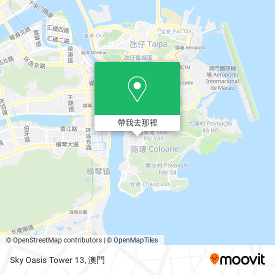 Sky Oasis Tower 13地圖