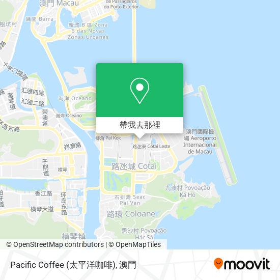Pacific Coffee (太平洋咖啡)地圖