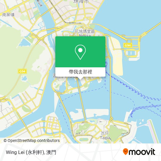 Wing Lei (永利軒)地圖