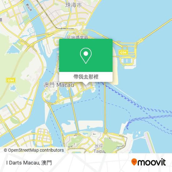 I Darts Macau地圖