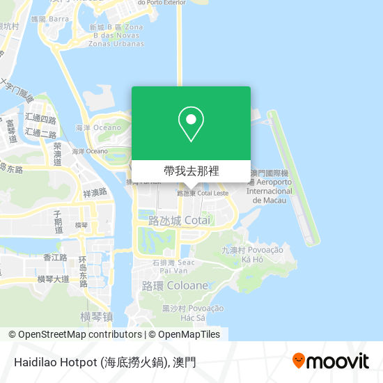 Haidilao Hotpot (海底撈火鍋)地圖