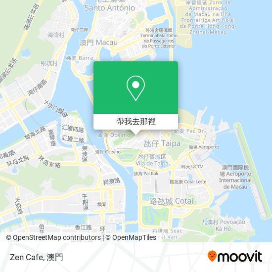 Zen Cafe地圖