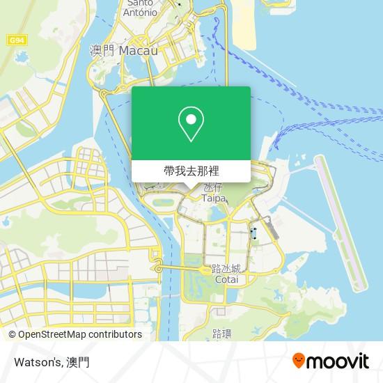 Watson's地圖