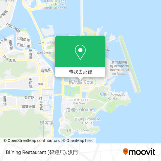 Bi Ying Restaurant (碧迎居)地圖