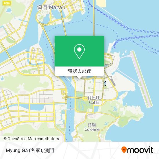 Myung Ga (各家)地圖
