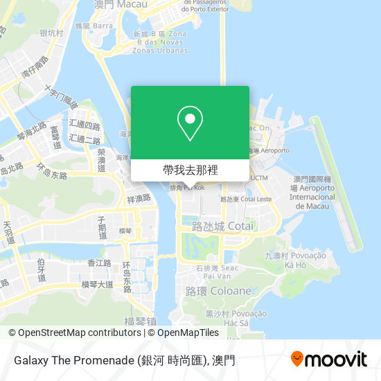 Galaxy The Promenade (銀河 時尚匯)地圖