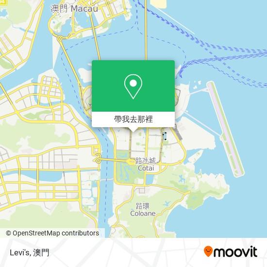 Levi's地圖