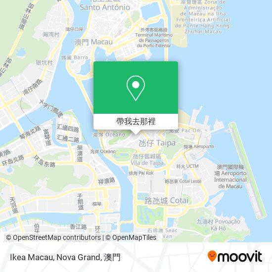 Ikea Macau, Nova Grand地圖