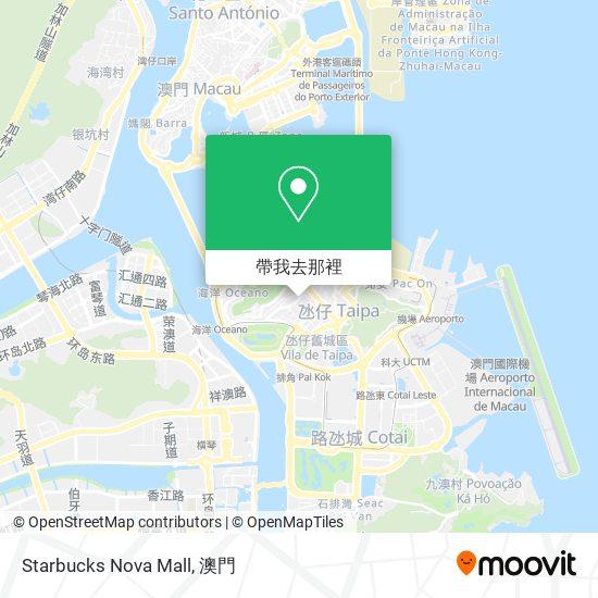 Starbucks Nova Mall地圖