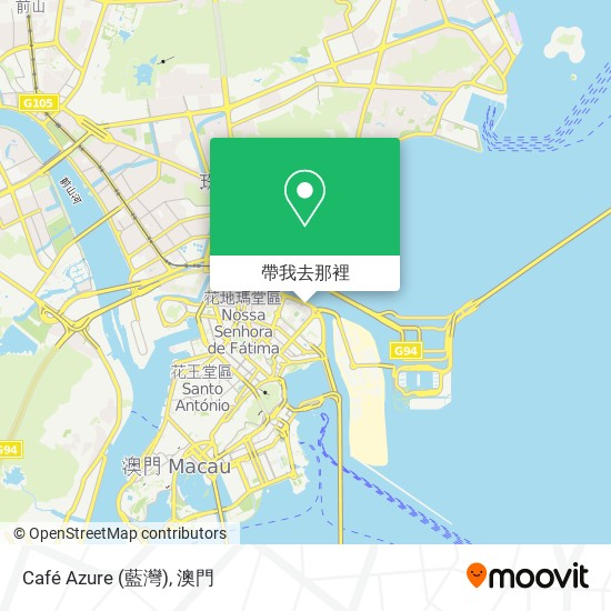 Café Azure (藍灣)地圖