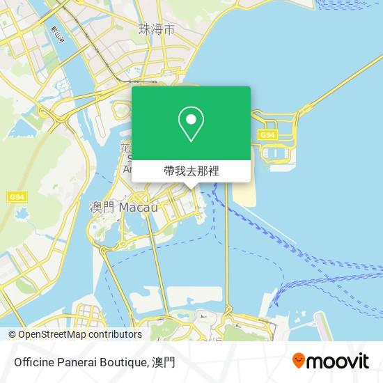 Officine Panerai Boutique地圖