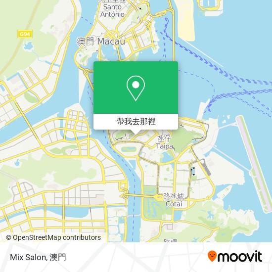 Mix Salon地圖