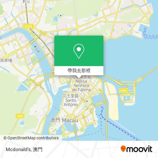 Mcdonald's地圖