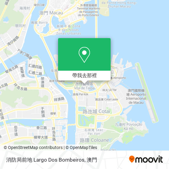 消防局前地 Largo Dos Bombeiros地圖