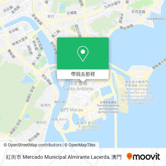 紅街市 Mercado Municipal Almirante Lacerda地圖