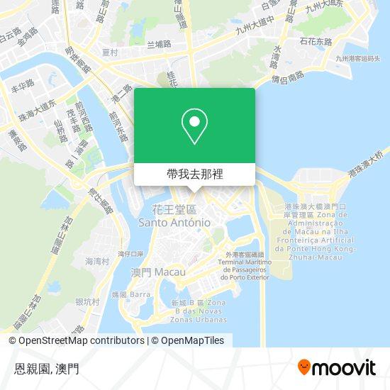 鏡湖醫院慈善會殯儀館 Associação De Beneficência Do Hospital Kiang Wu Casa Mortuaria地圖